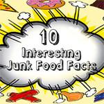 10 junk food weetjes die u nog niet wist