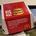 Big Mac in doos