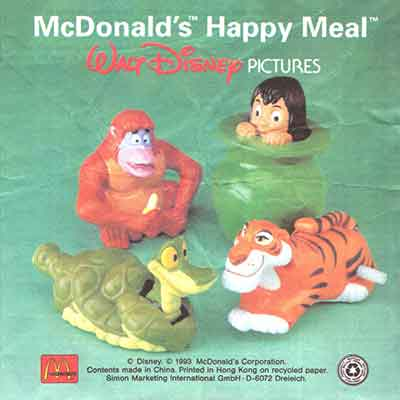 McDonald's Jungle Book