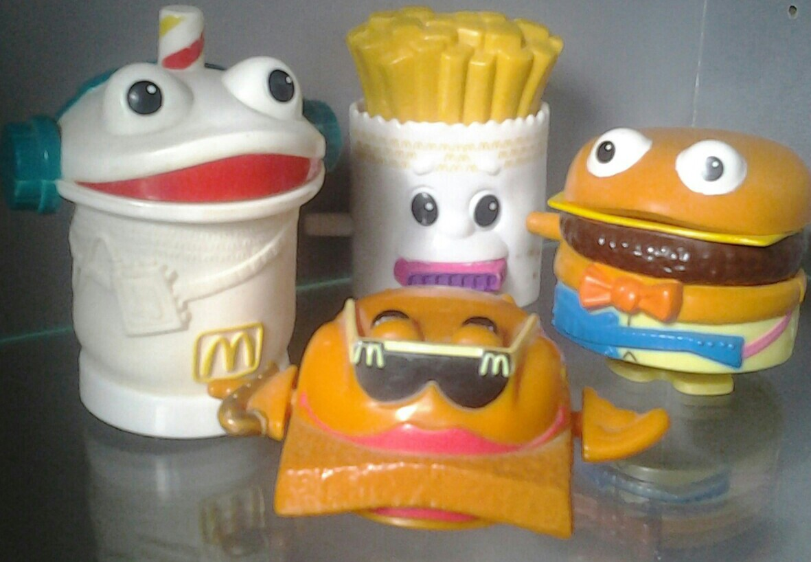 McDonald's Funny Food Rockers