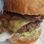 Hamburger kaas en bacon