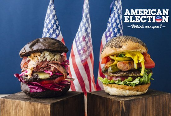 American Election burgers