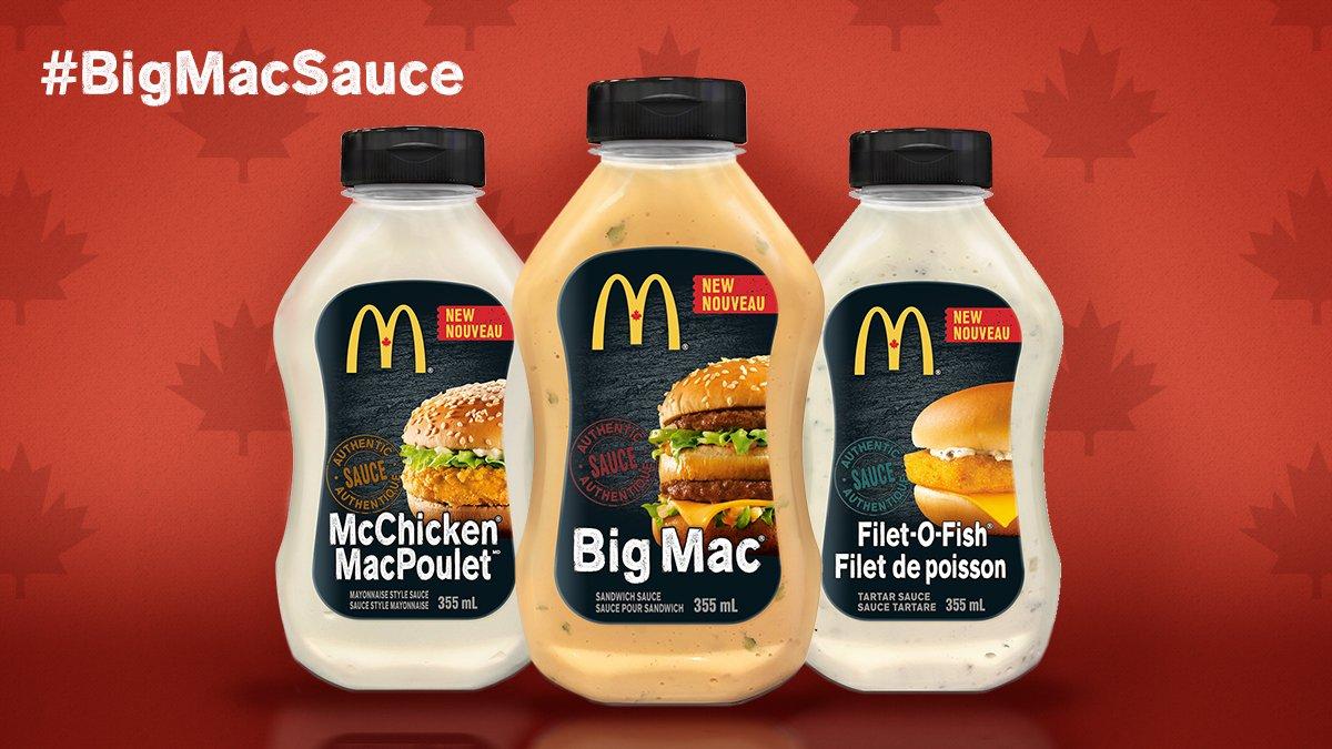 McDonald's saus