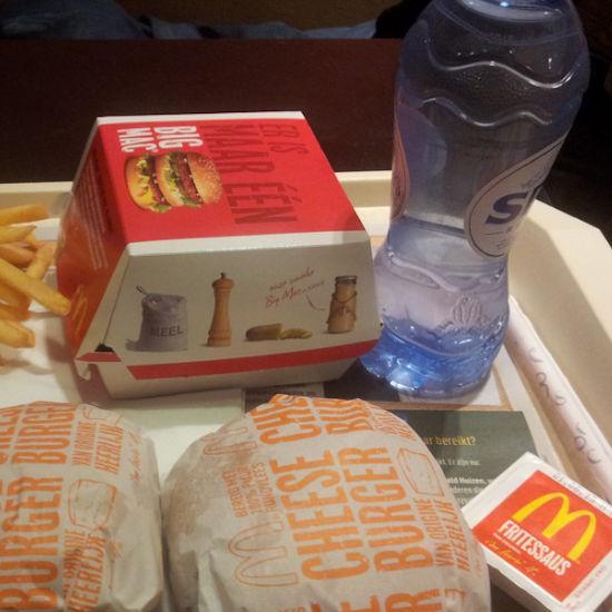 McDonald's water