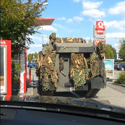 Drive-Thru militair