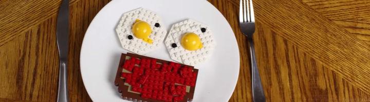 Lego ontbijt