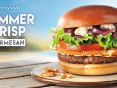 McDonald's Summer Crisp Parmesan
