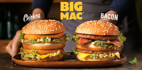 Big Mac Chicken en Bacon