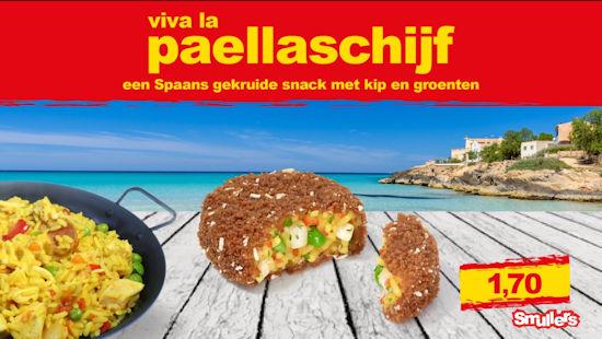 Smullers Paella schijf