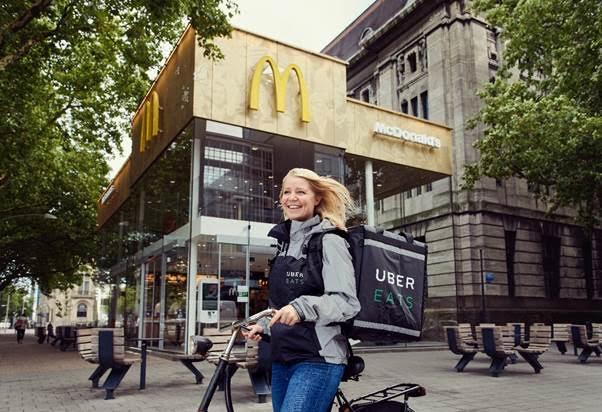 UberEATS bij McDonald's