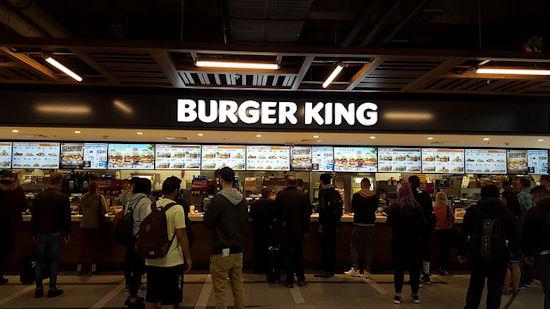 Burger King restaurant Schiphol