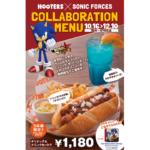 Sega mascotte bij Japanse Hooters