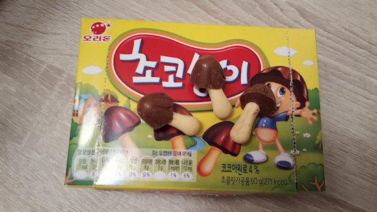 Choco Paddestoelen Zuid-Korea