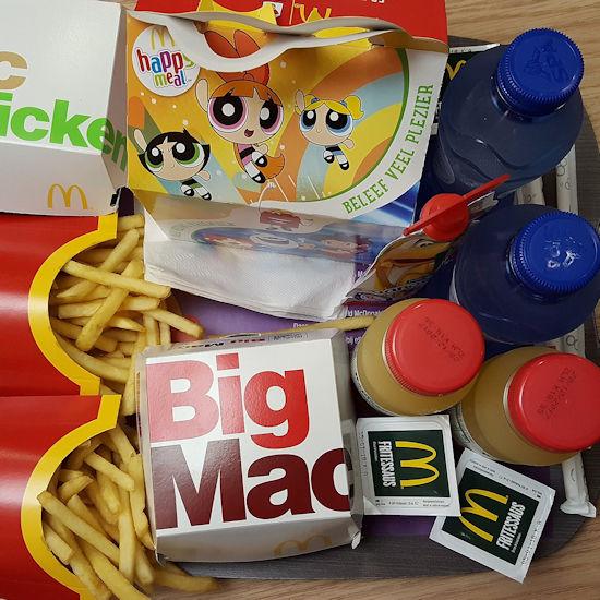 Complete Mcdonalds Cadeaukalender 2017 Snacknieuws