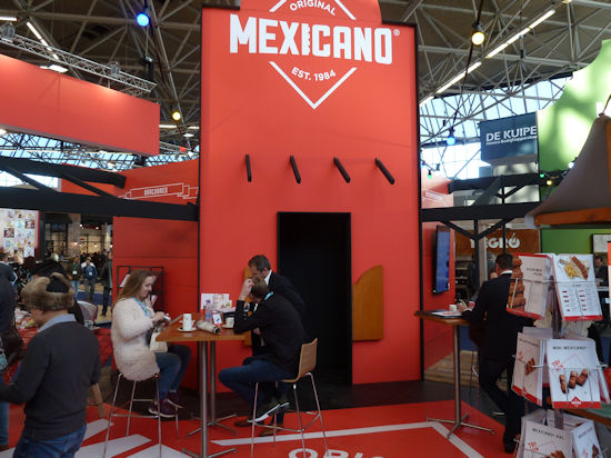 Mexicano stand