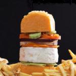 Cheeseburger van kaas