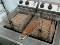 Frituurpannen Frikandelleneetwedstrijd