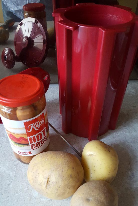 Aardappel Snijder