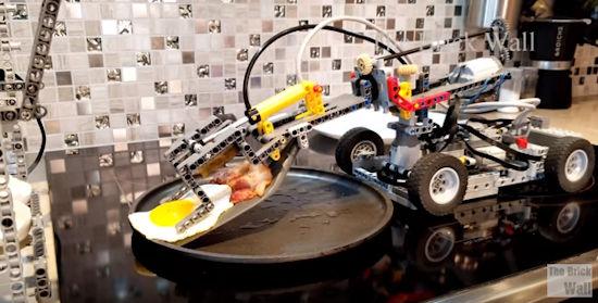 Lego ontbijt machine