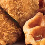 KFC doet proef met kip, wafels en siroop