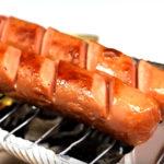 Mini barbecue gemaakt van blikje