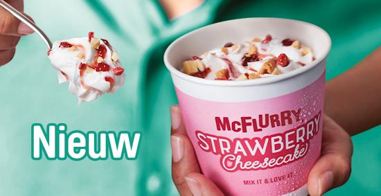 McFlurry Strawberry