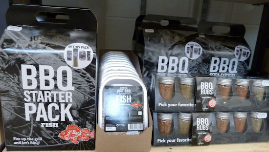 Not just BBQ display