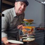 Zo maakt een fotograaf een foto van een vliegende sandwich