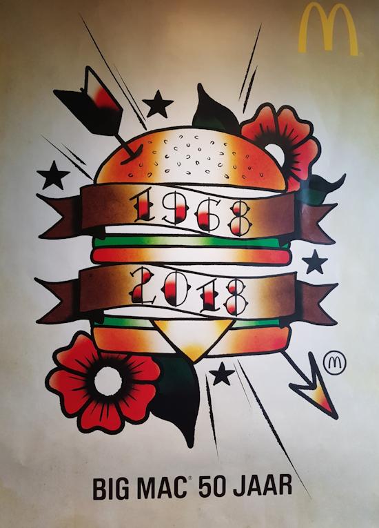 Big Mac 50jaar
