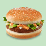 Smullers vegetarische burger