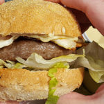Lamsburger bij Engelse Burger King