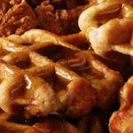 Kip met honing en wafels blijkt succes