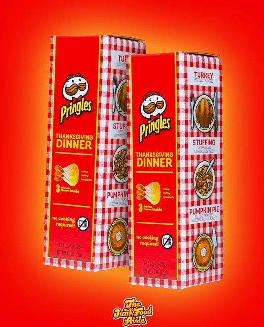 Thanksgiving Pringles 2018
