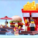 LEGO Food Stand Diners