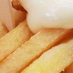IJs gemaakt van mayonaise