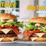 Single en Double Big Tasty