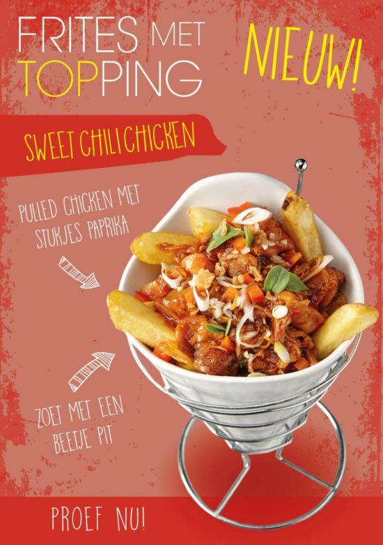 De Indische Sweet Chili Chicken Topping