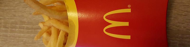 Frietbakje McDonald's