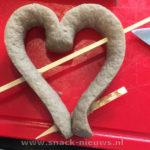 Frikandel hart Valentijnsdag