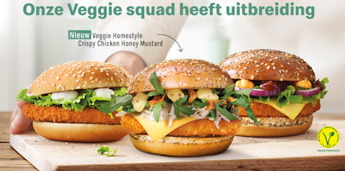 McDonald's Veggie assortiment