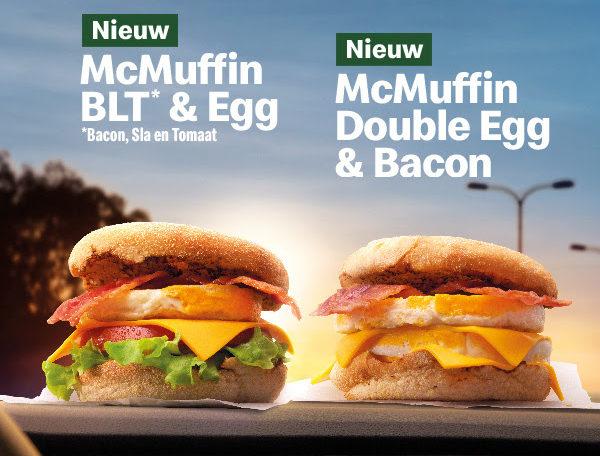 Nieuwe McMuffins