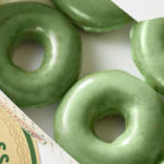 Groene donut voor St. Patricks Day