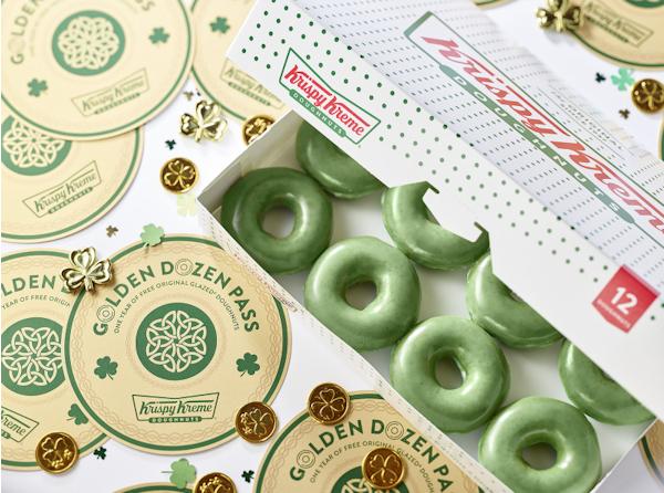 Groene donut