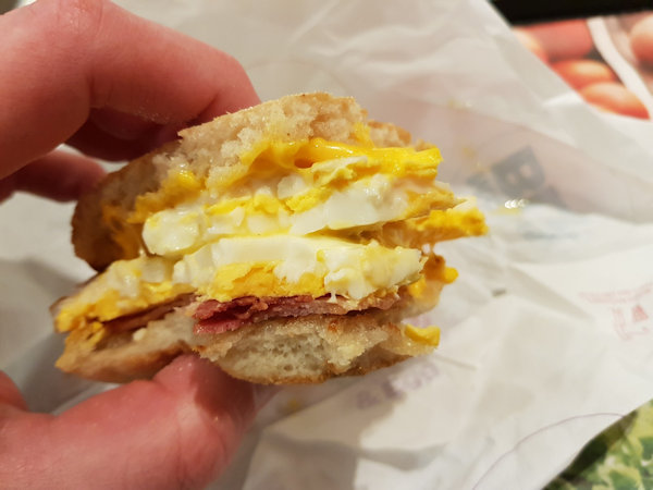 McMuffin Double Egg & Bacon