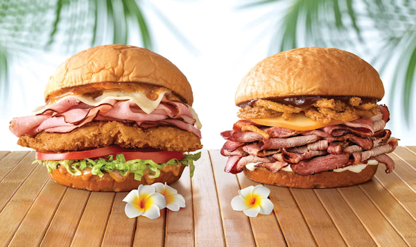 Arby Hawaii Sandwiches