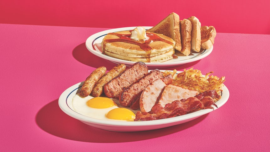 Ihop ontbijtmenu