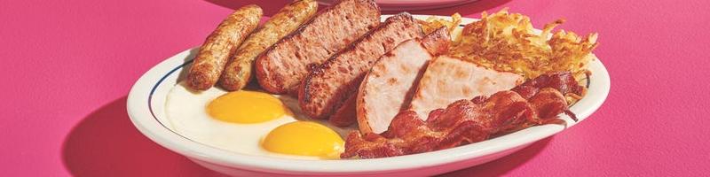 Ihop ontbijtmenu feat