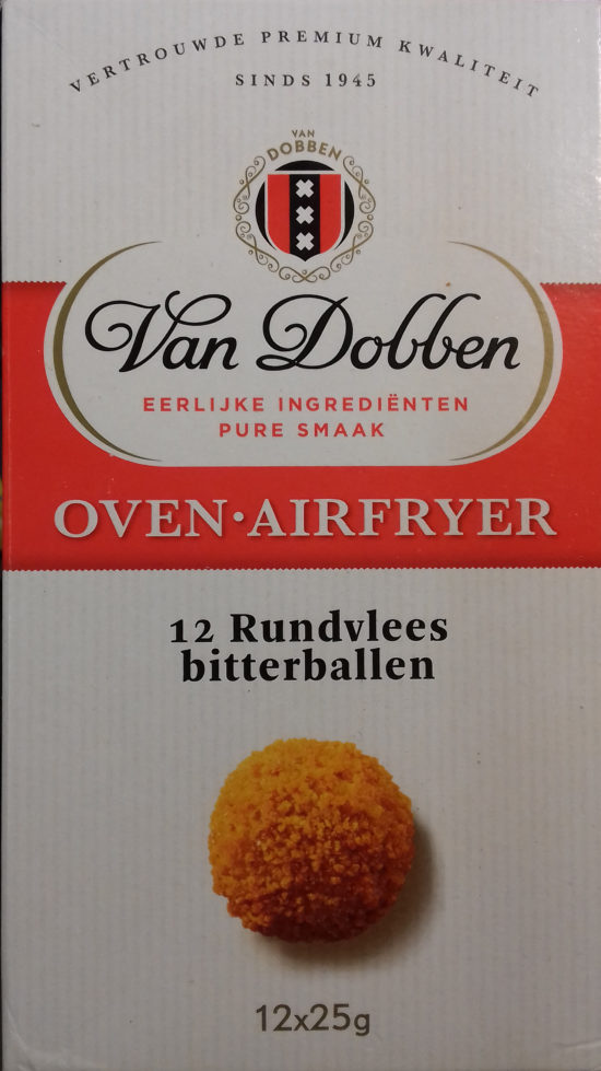 Van Dobben Oven bitterbal