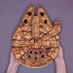 Millenium Falcon taart