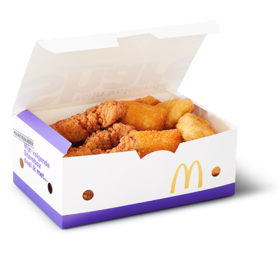 McDonald's snackbox
